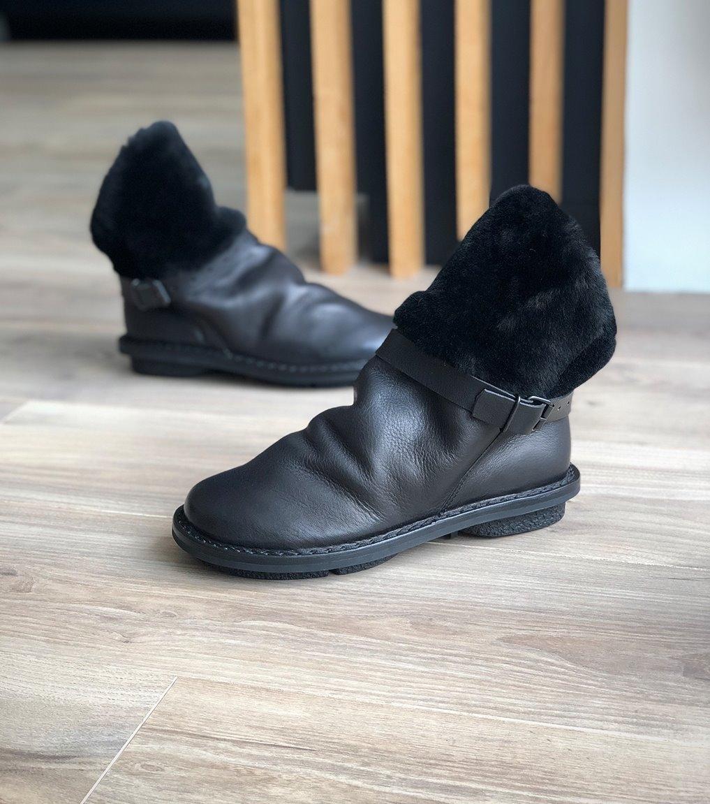 boots fourrées bomb mod f noir
