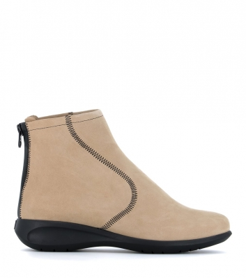 low boots sylvia beige