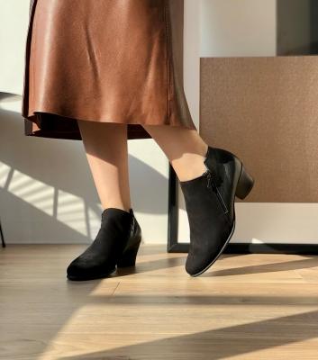 boots mushka noir
