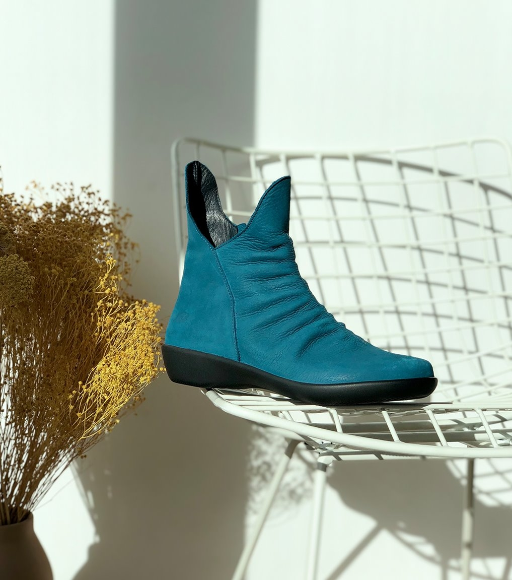 low boots active 73065 turquoise