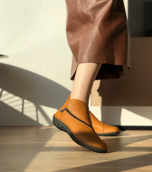 low boots fusion 37534 cognac