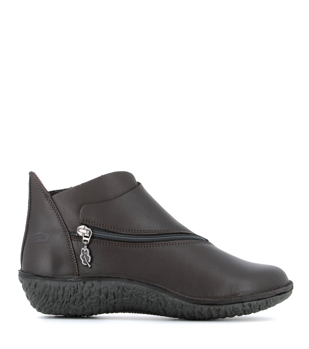 low boots fusion 37534 dark brown