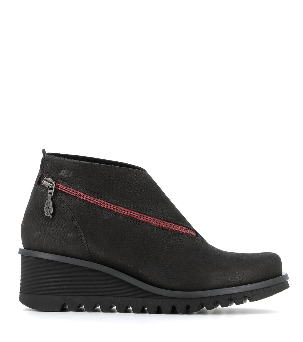 low boots lightning 33051 black