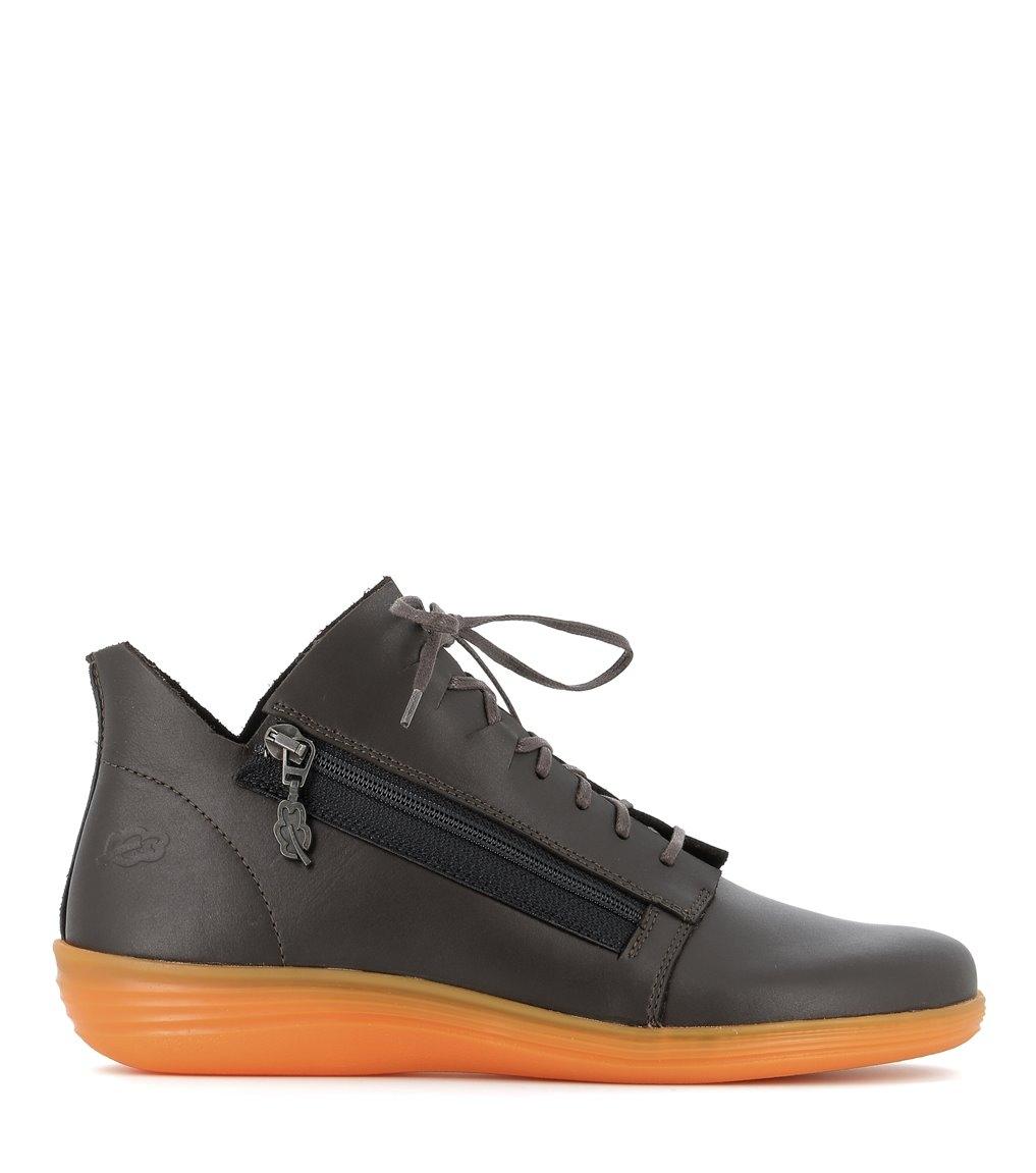 casual shoes circle 79039 dark brown