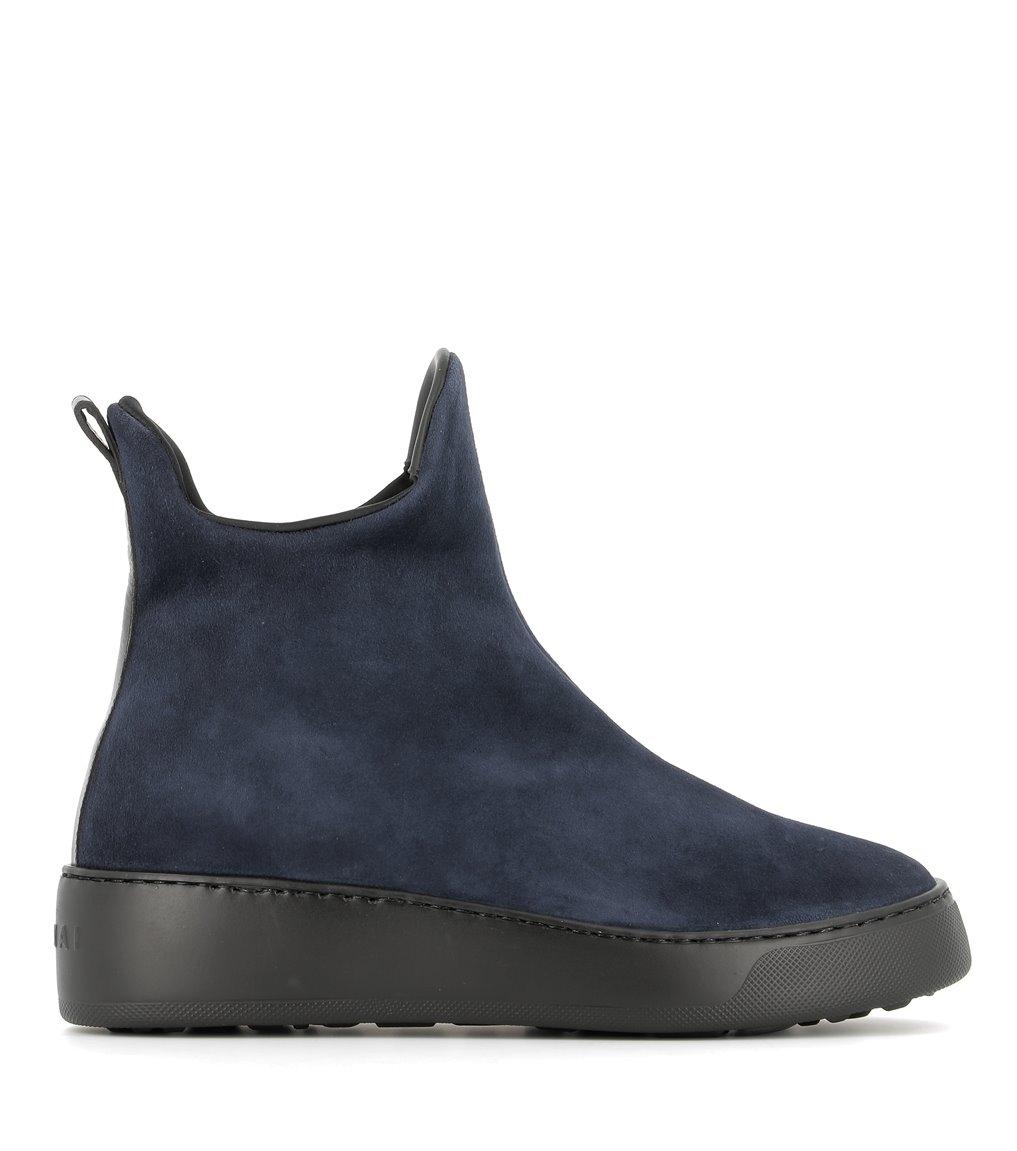 low boots m11 dark blue
