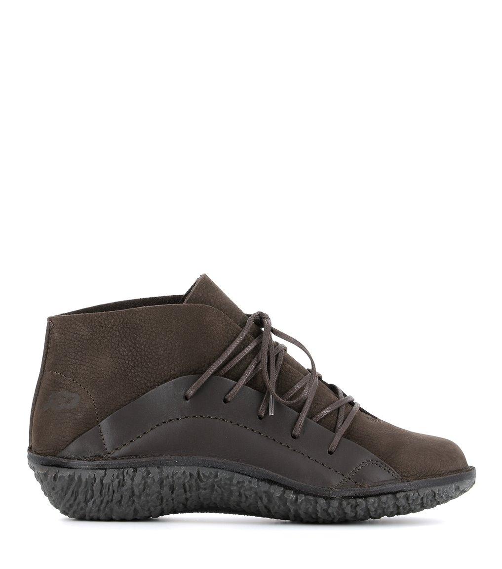 zapatos fusion 37071 dark brown