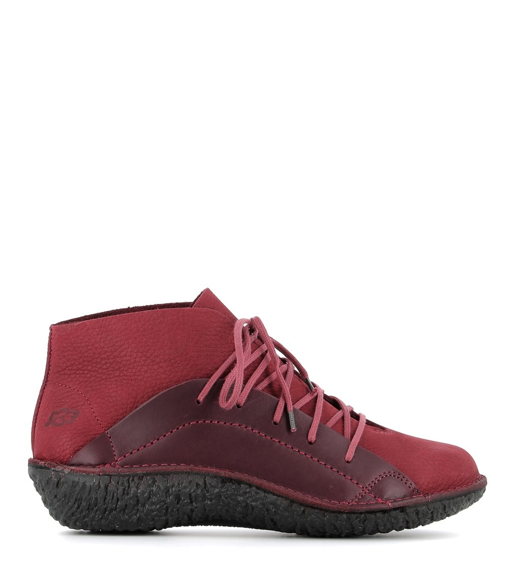 casual shoes fusion 37071 ruby wine