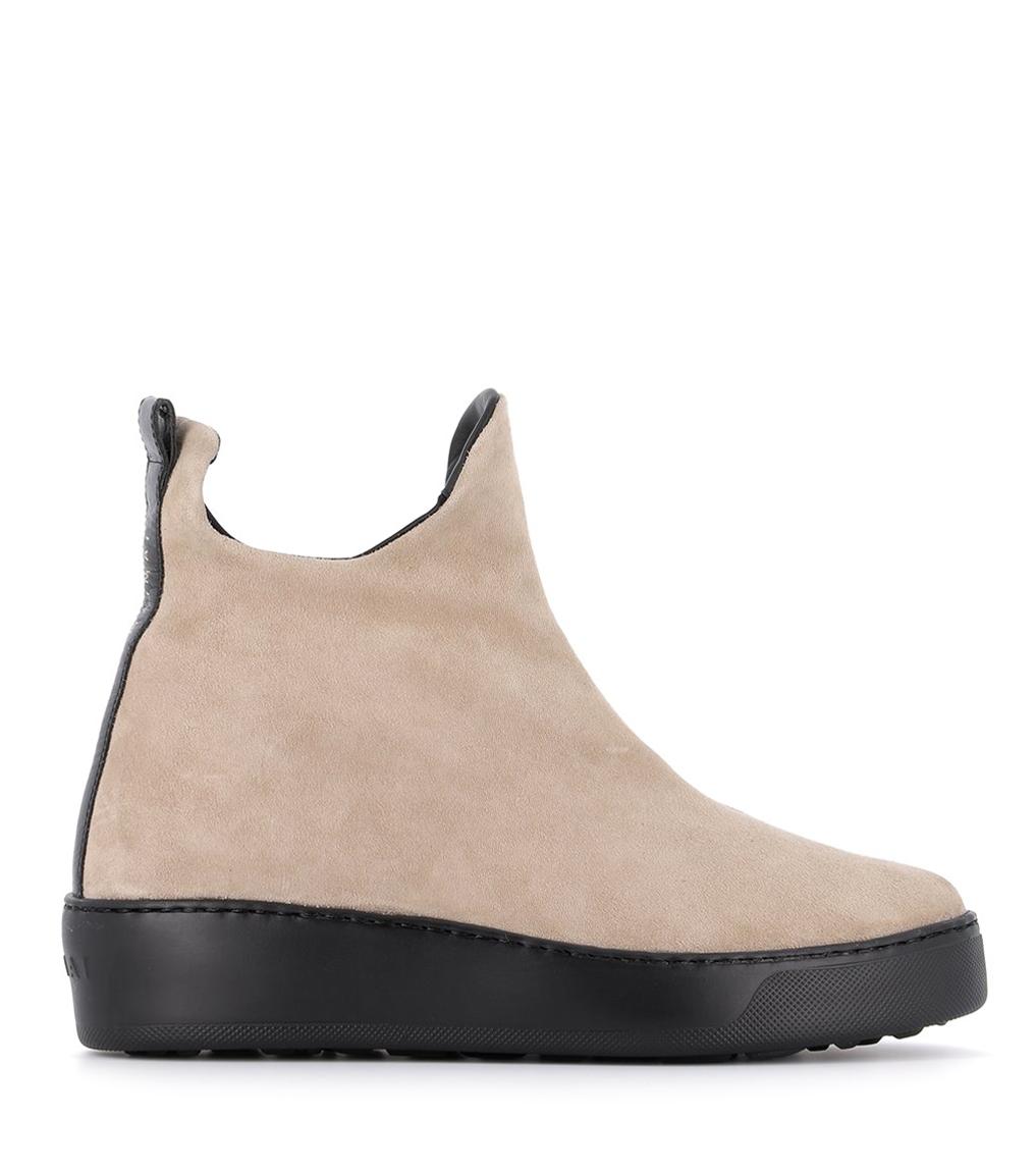 low boots m11 beige