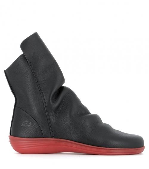 low boots circle 79025 black