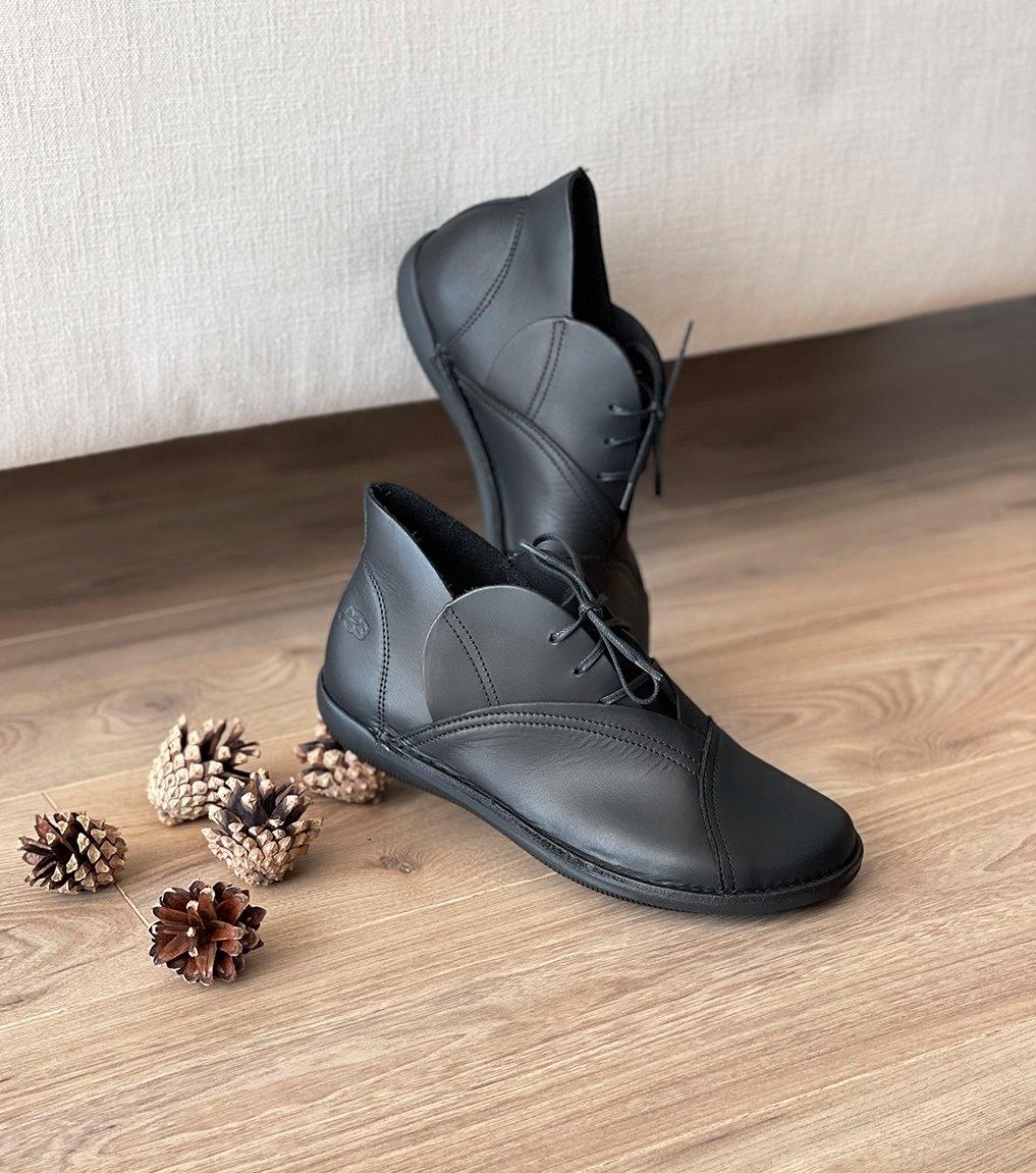 zapatos natural 68950 negro