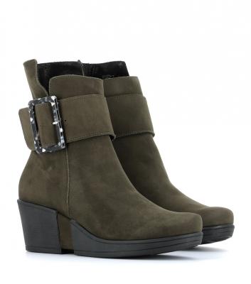 boots chloe kaki