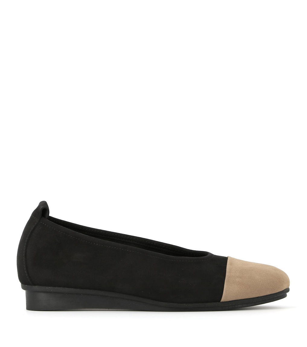 ballerines ninage noir sand