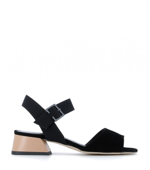 sandals 49531 black