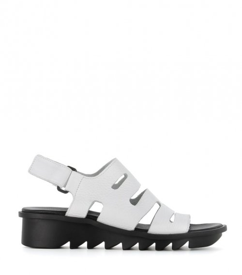 sandals ikheno white