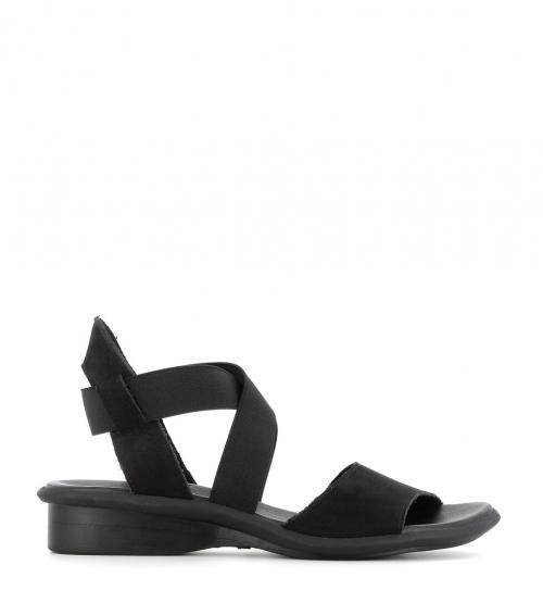 sandalias satia negro