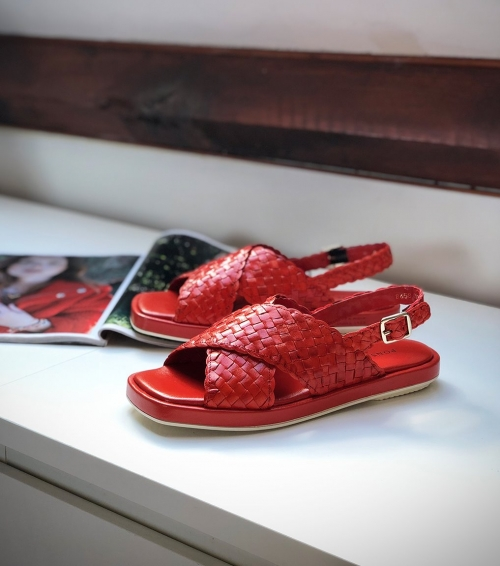 sandalias malena 8658 red