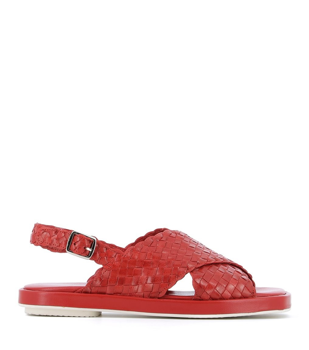 sandals malena 8658 red
