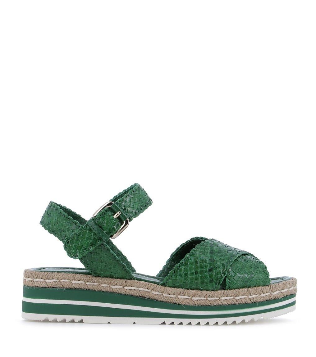 sandals milan 8331 green