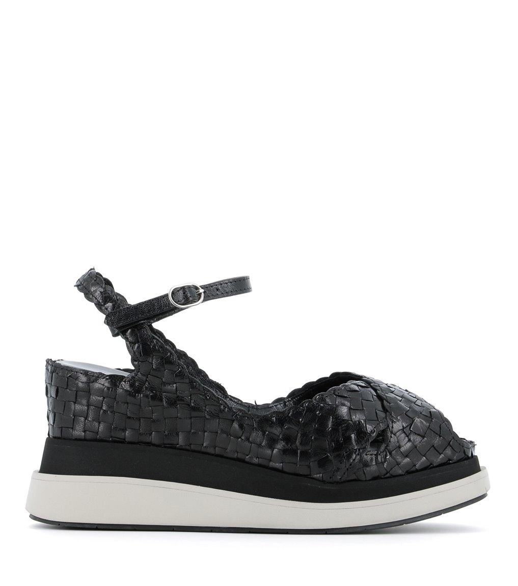 sandales bianca 9250 noir