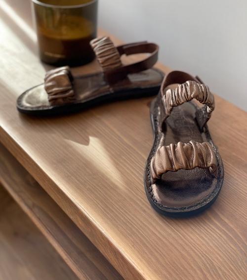 sandales pacific f bronze