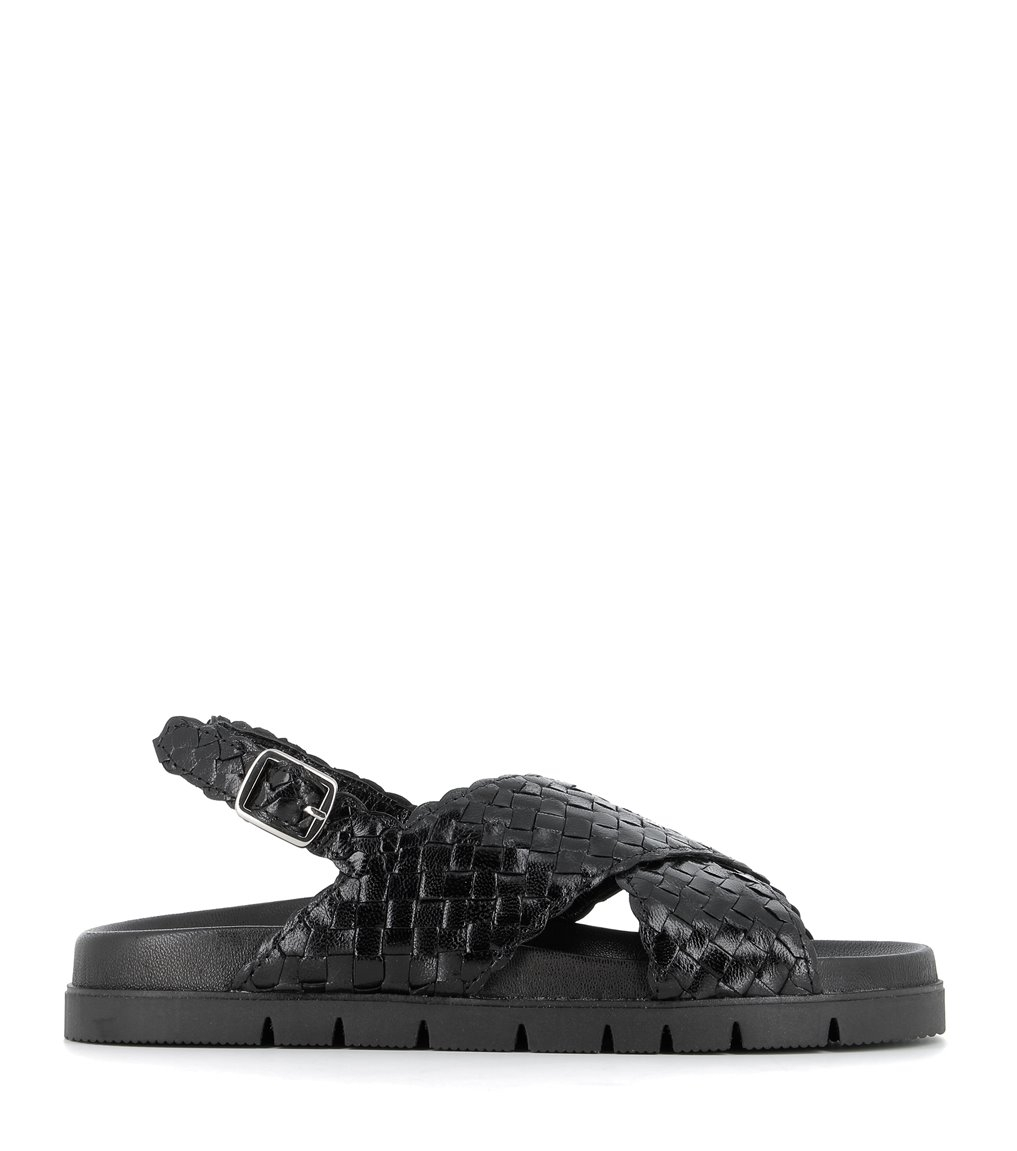 sandalias caiman 9132 negro