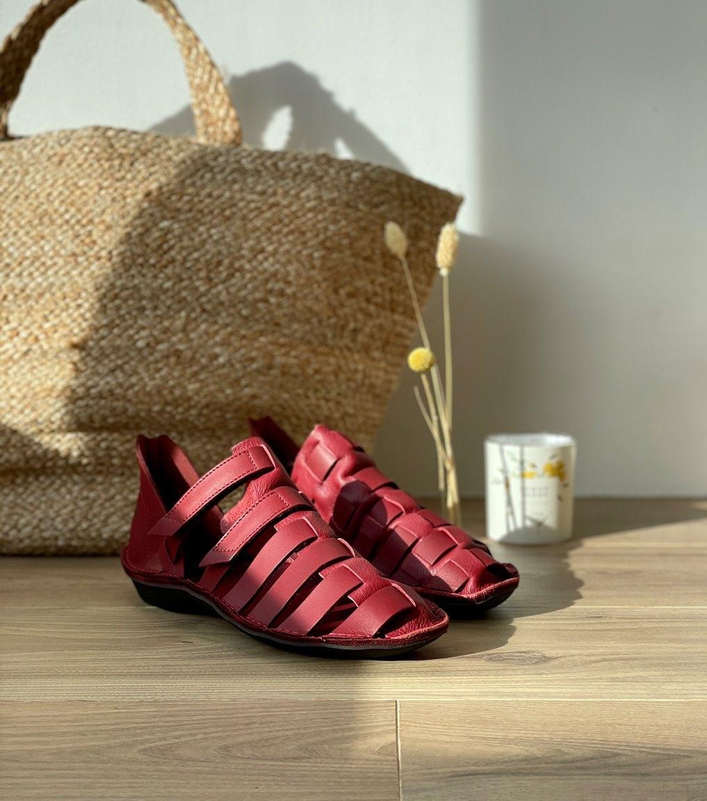casual shoes turbo 39101 rubino