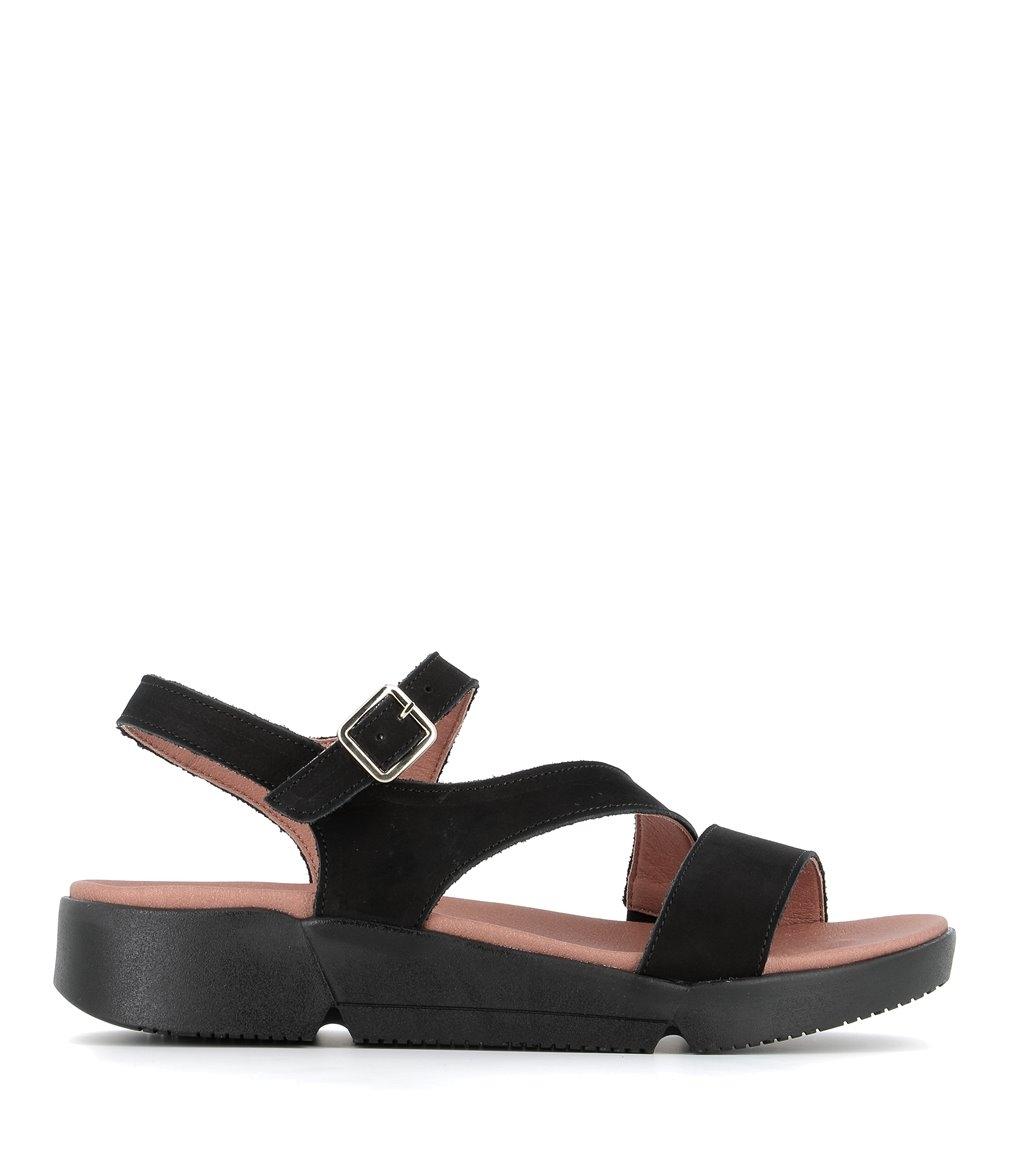sandals fabienne black