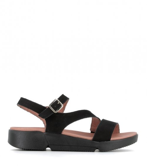 sandales fabienne noir