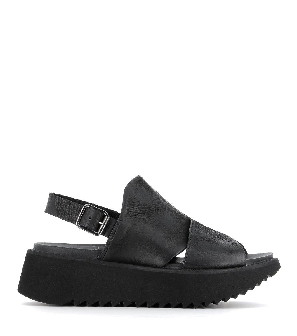 sandales 1e186 noir