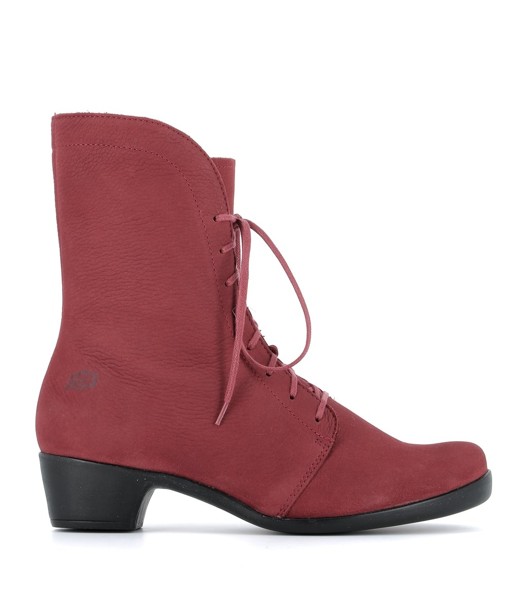 low boots opera 33464 red