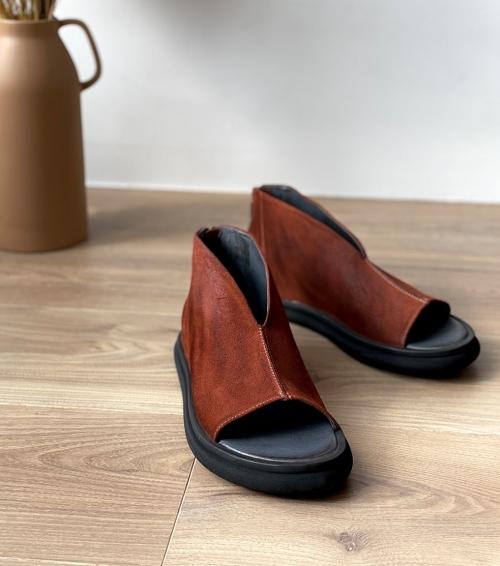sandales 1e267 caramello