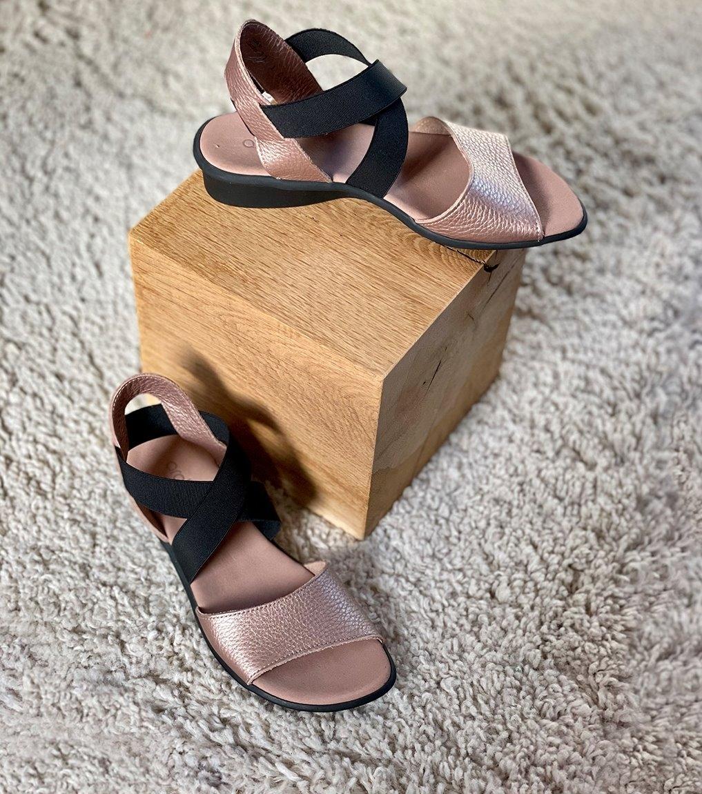 sandales satia blush
