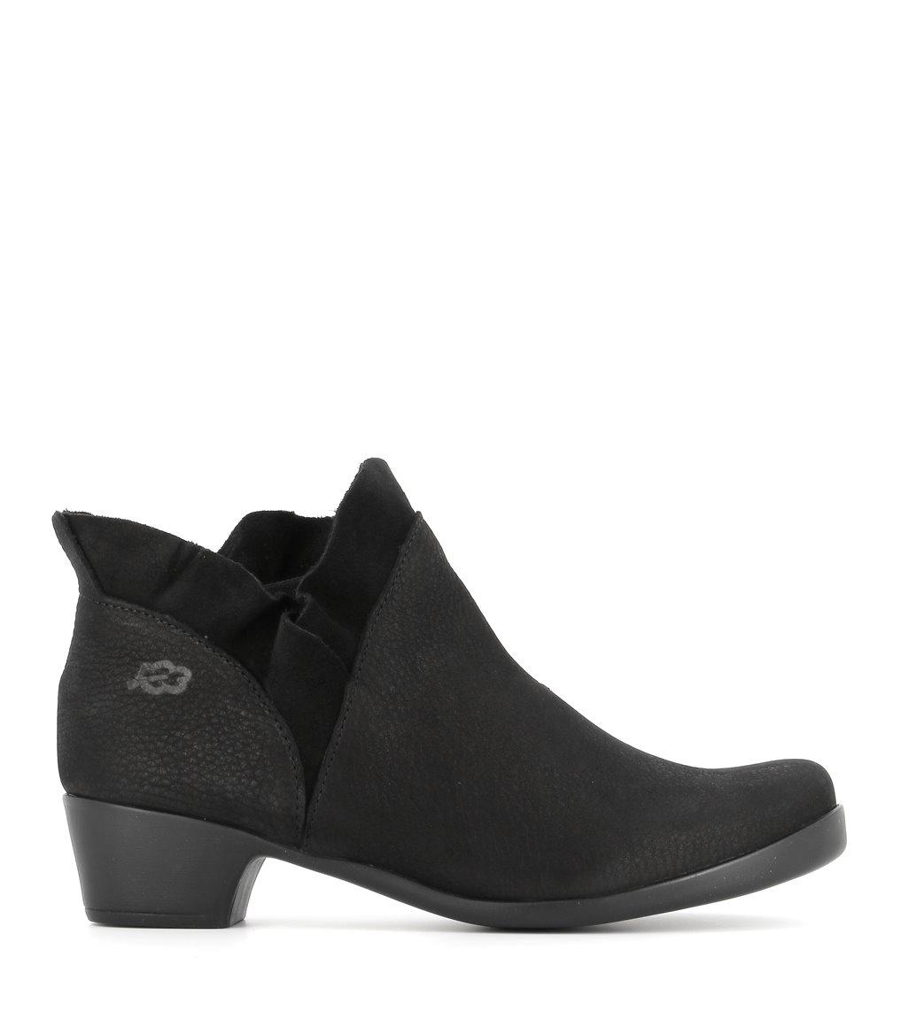 low boots opera 33461 black