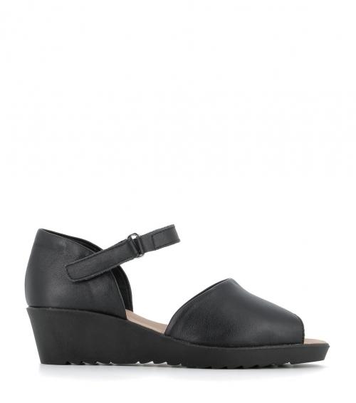 sandales brigitte noir