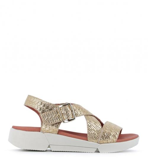 sandales florence platine