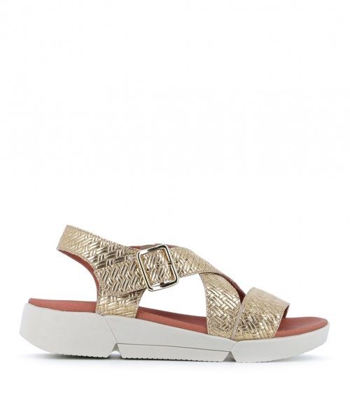 sandals florence platine