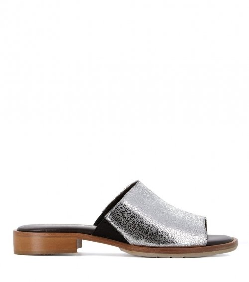 mules 29593 silver