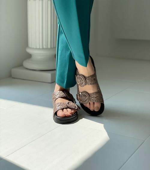 sandals caiman 9130 sasso