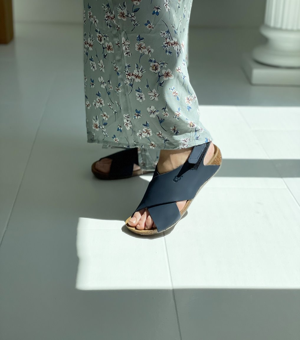 sandals florida 31152 blue