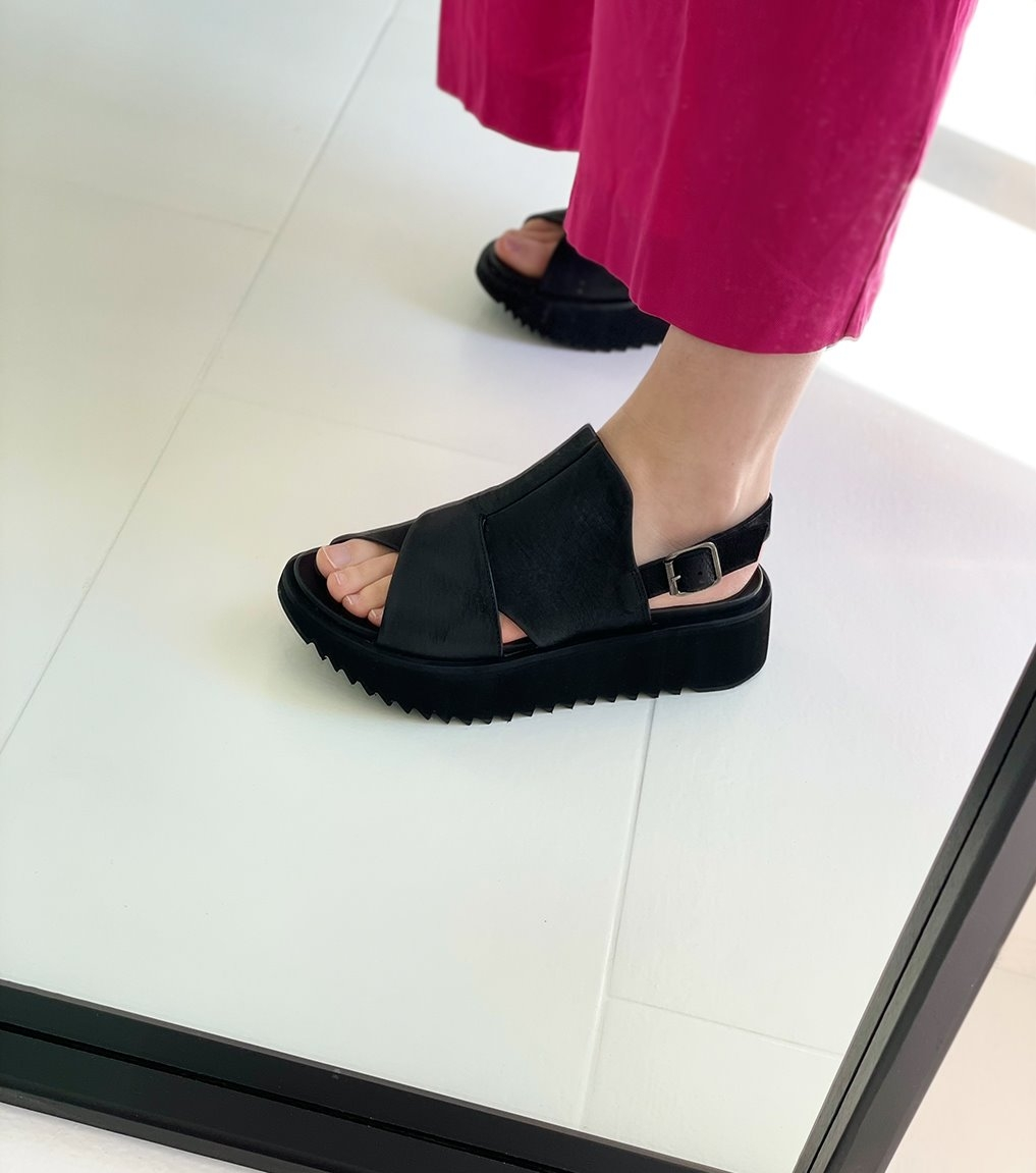 sandals 1e186 black