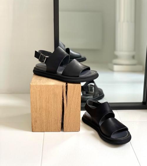 sandals 1e266 black