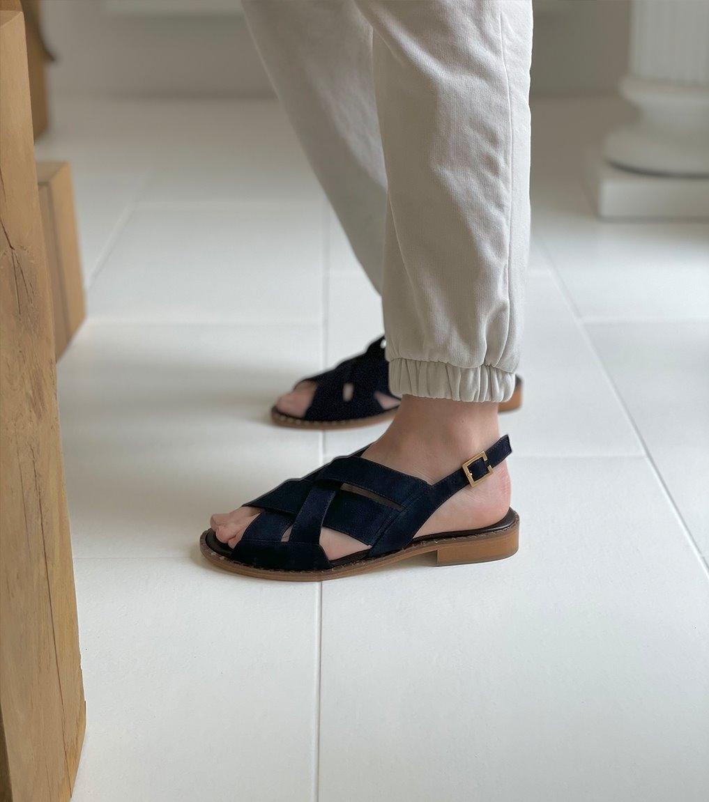 sandals 29610 blu