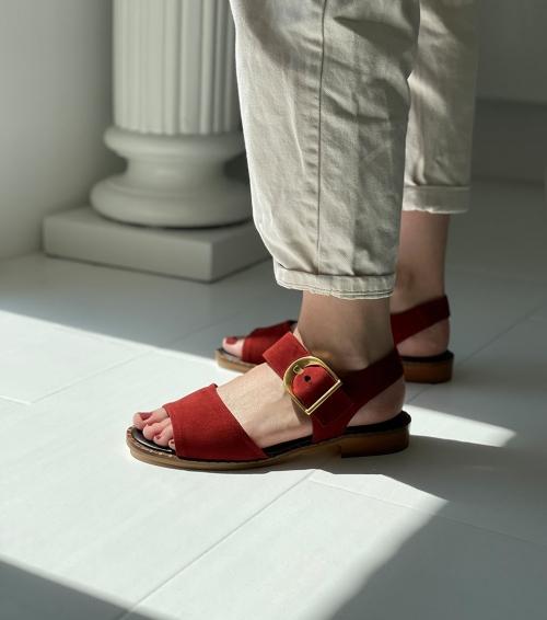 sandals 29608 acero