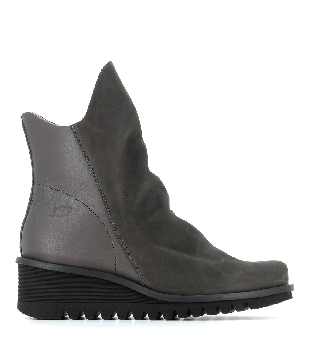 low boots lightning 33106 mid grey