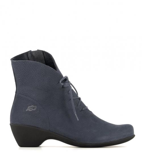 low boots muze 33156 blue