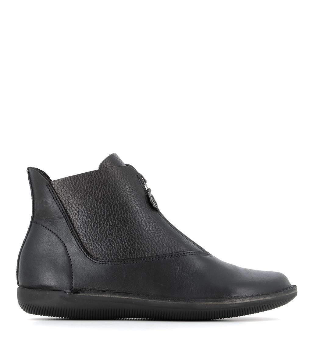 low boots natural 68612 black