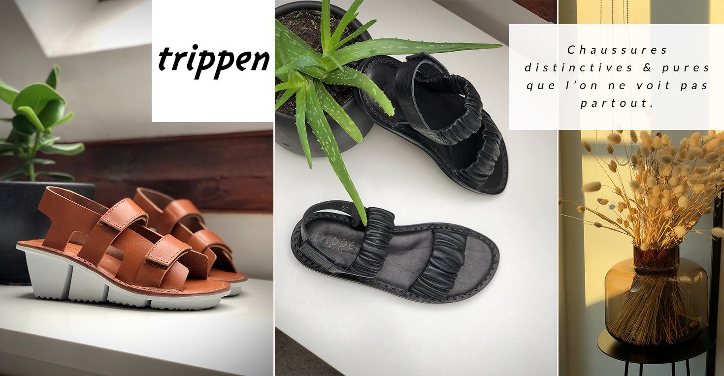 Chaussures Trippen collection été 2020