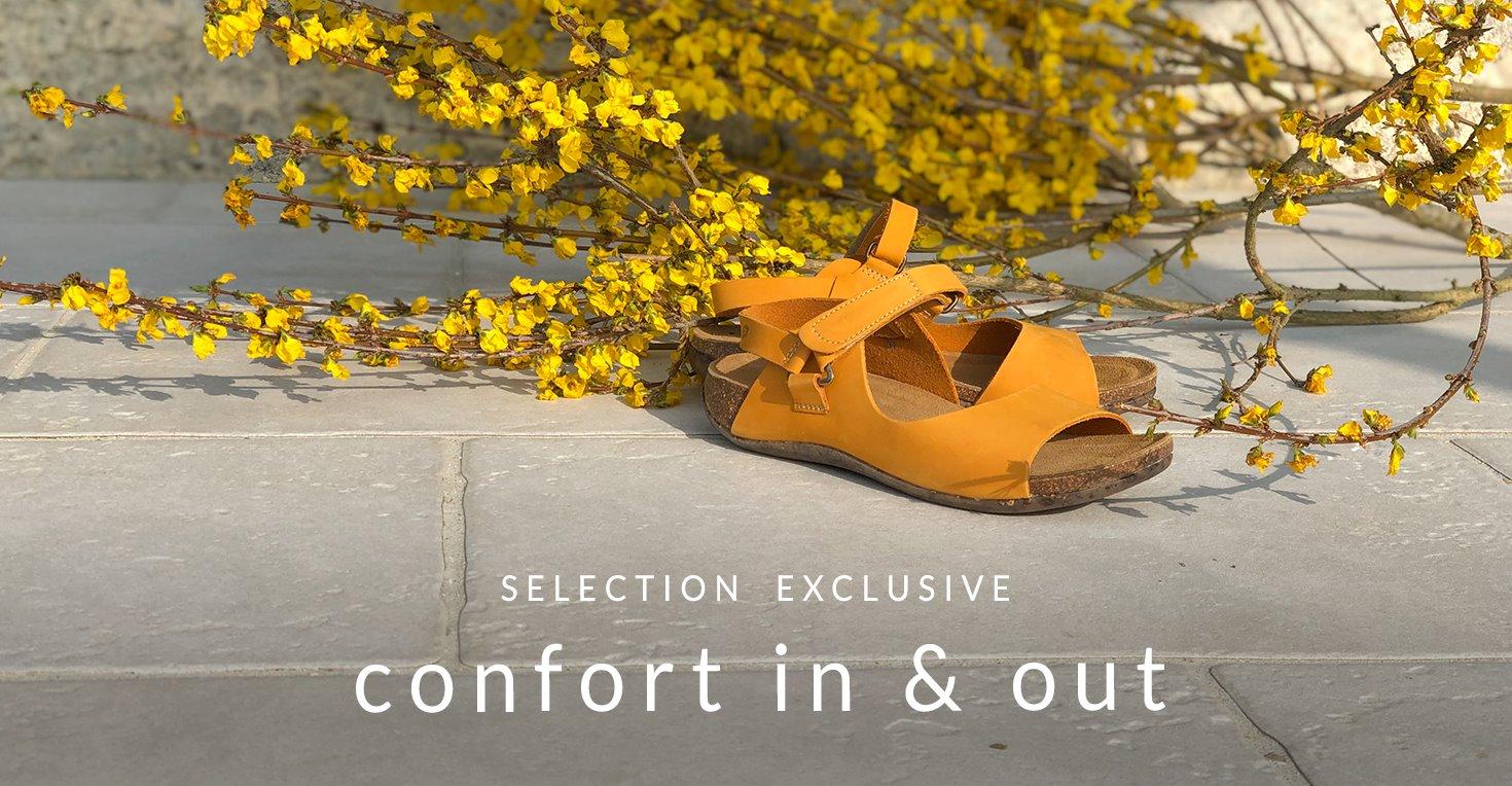 Chaussures de confort pour femme