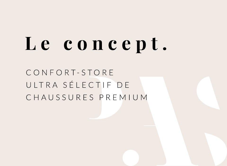 Confort-store de chaussures pour femme