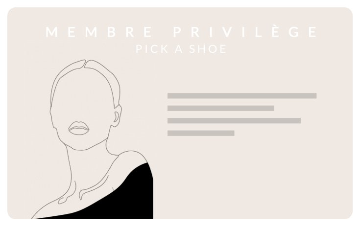 Membre Pick a Shoe